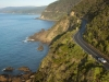 Great Ocean Road from the air