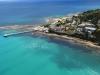 Aerial view of Lorne Pier to Pub swim